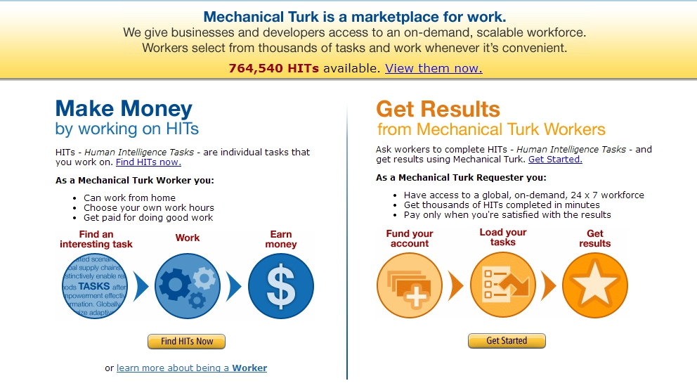 Иллюстрация к статье: Может ли «Механический Турок» Amazon служить во благо науки?