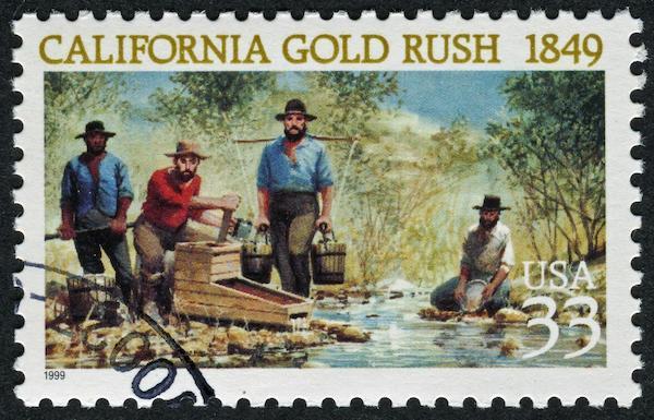 Иллюстрация к статье: Калифорнийская золотая лихорадка: как на самом деле зарабатывались огромные состояния