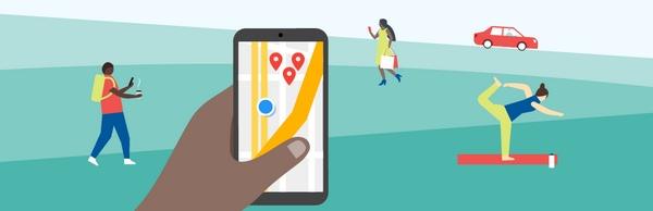 Убедитесь в том, что пользователи смогут легко вас найти при наступлении I-want-to-go моментов