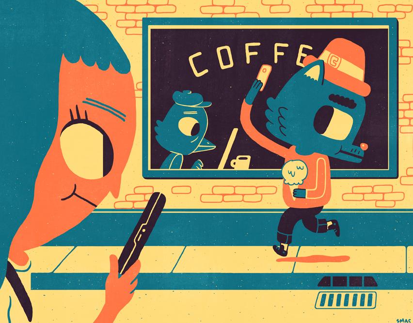 Иллюстрация к статье: Микро-моменты как потенциал для развития вашего бренда