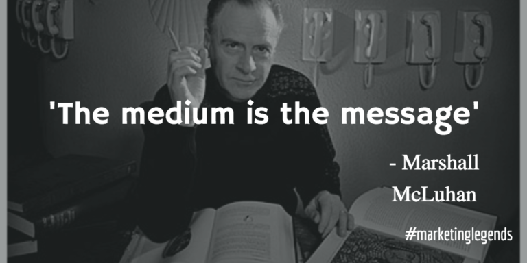 "mcluhan essay Essay about the medium is the message - the medium is the message mcluhan's work with literature and culture produced the revolutionary thought that ""the medium is the message"" in other words, cultures are changed not only by the ""content"" of technology, but also by the technology itself."