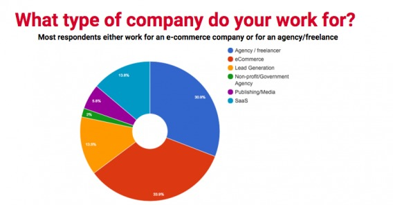 На какой тип компании вы работаете?
