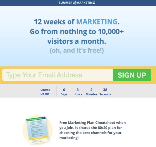 «Лето маркетинга» (Summer of Marketing)
