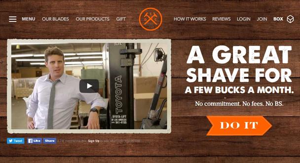 Иллюстрация к статье: История одного стартапа: The Dollar Shave Club