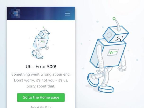 Иллюстрация к статье: Мобильный дизайн: сообщения об ошибках — Часть 2