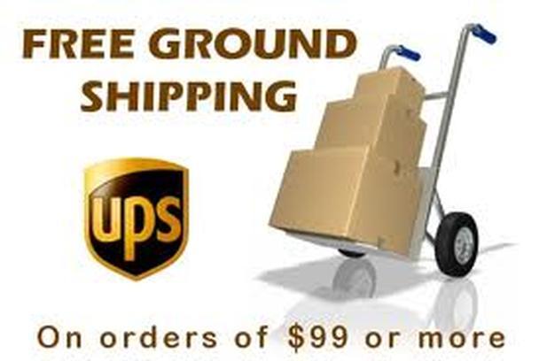 Бесплатная доставка покупки при стоимости заказа, превышающей 99 долларов