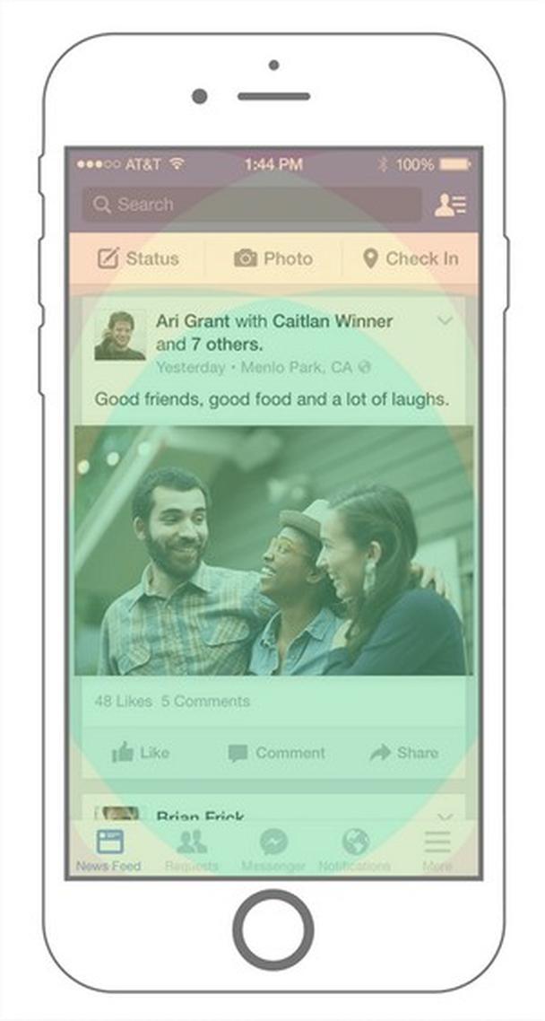Мобильное приложение Facebook