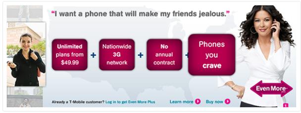 Рекламная кампания мобильного оператора T-mobile