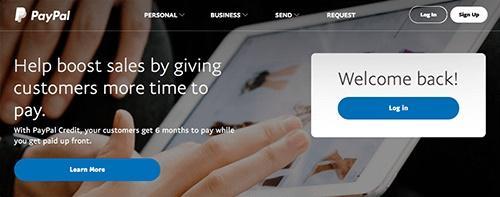 Ресурс PayPal