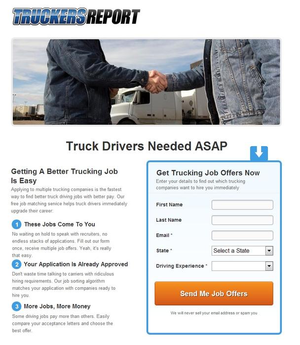 Срочно требуется водитель грузовика