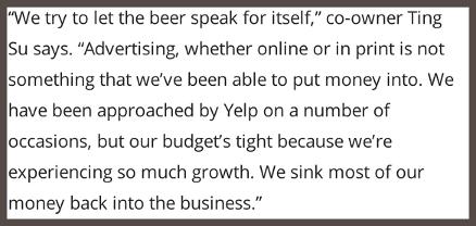 Сооснователь пивоварни Eagle Rock объясняет: «Мы позволили пиву говорить за себя»