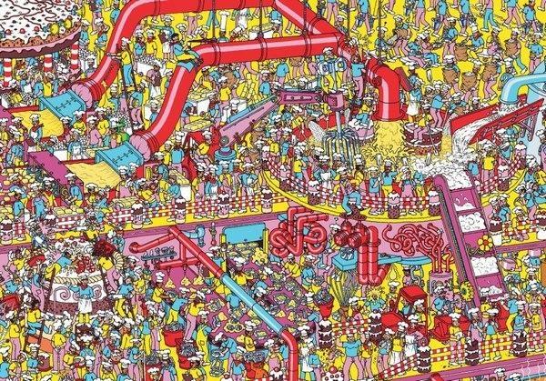 Иллюстрация к статье: Проектирование посадочных страниц: чему может научить детская книжка «Где Уолли?»