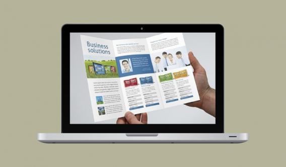 Большинство В2В-ресурсов представляют собой многоцелевые сайты, напоминающие брошюру