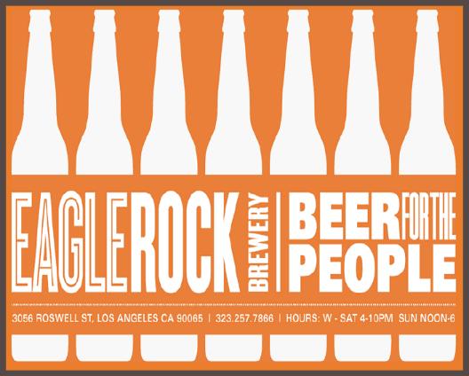 Рекламный баннер Eagle Rock Brewery