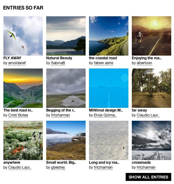 Фотографии, представленные на конкурс «Открытая дорога»