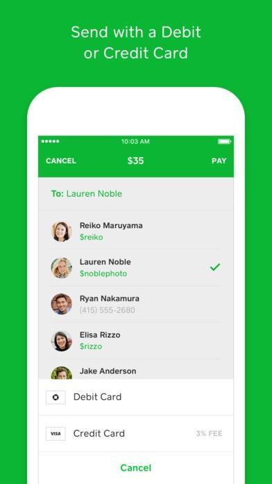 Мобильное приложение Square