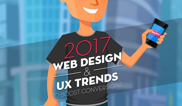 Иллюстрация к статье: 10 трендов веб-дизайна и UX, которые увеличат вашу конверсию в 2017