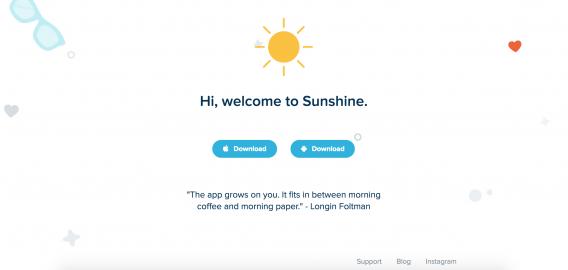 Привет, добро пожаловать в Sunshine