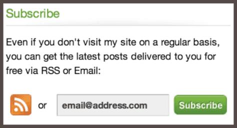 Уведомления можно получать или через RSS-ленту, или через электронную почту