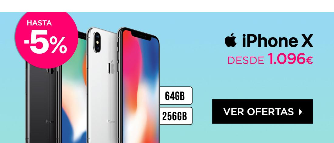 iPhone X desde 1096€