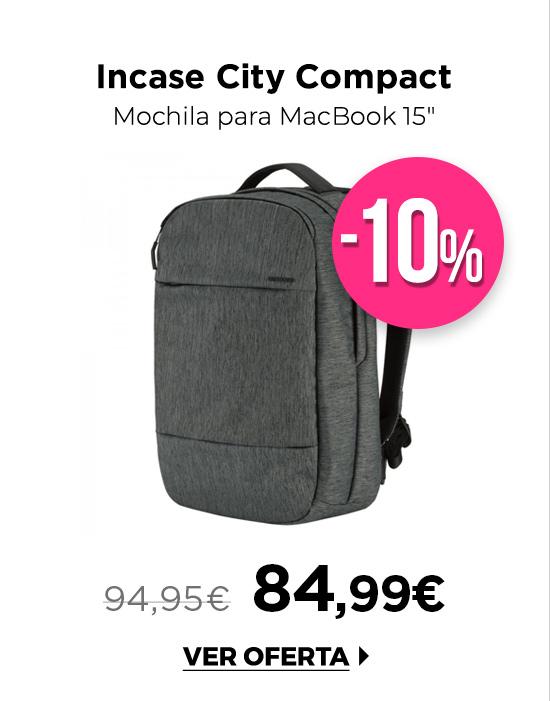 """Incase City Compact Mochila para MacBook 15"""" 2 colores"""
