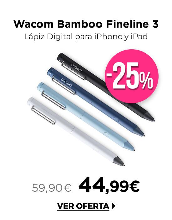 Wacom Bamboo Fineline 3 Puntero 4 colores