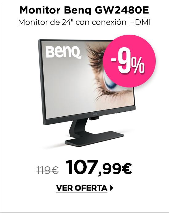 """Benq GW2480E Monitor 23,8"""" FHD DP HDMI"""
