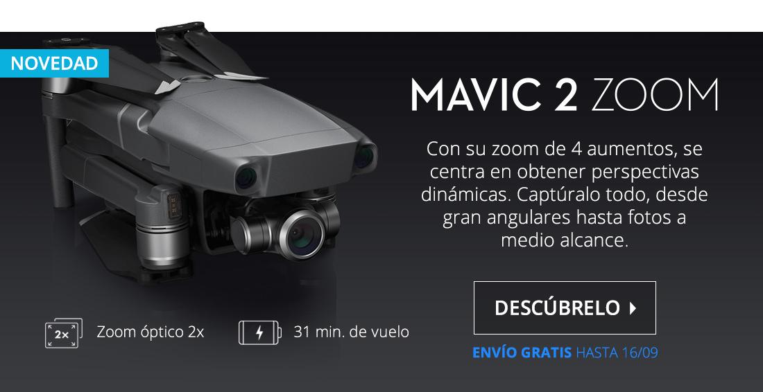 DJI Mavic 2 Zoom Drone Negro