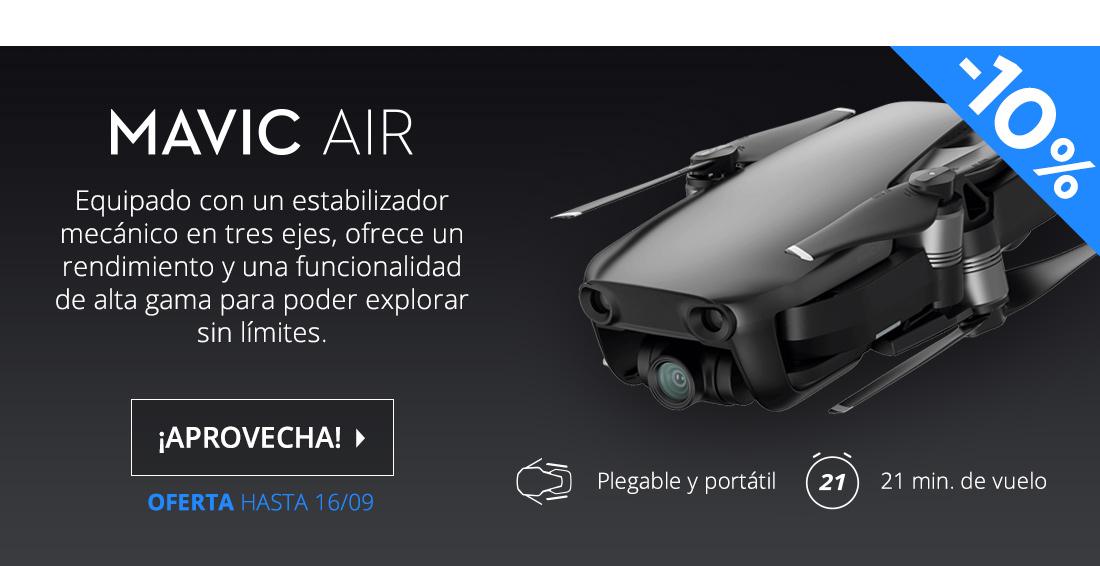DJI Mavic Air Drone Cuadricóptero Onyx Negro