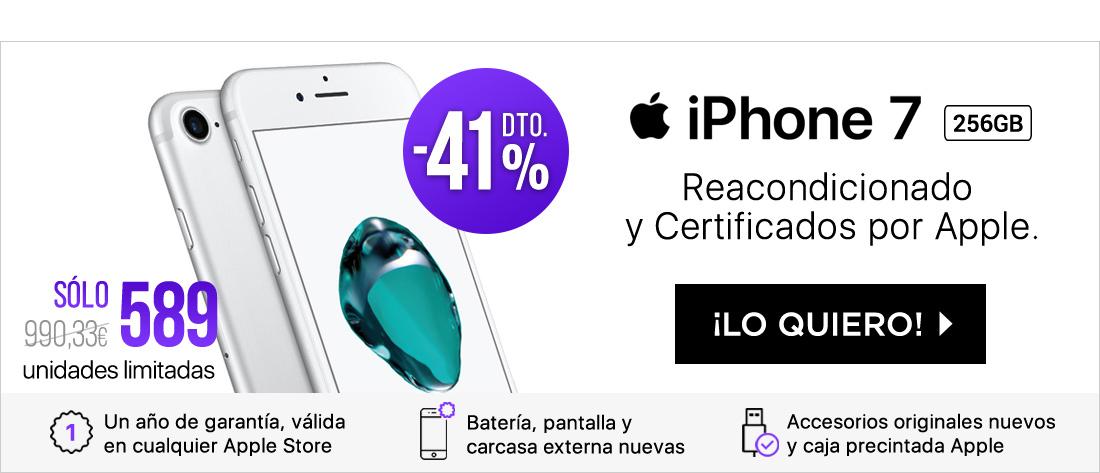 SM iPhone 7 256GB Plata CPO