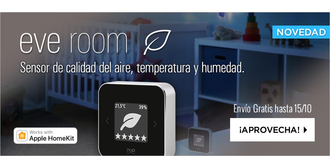 Elgato Eve Room Sensor Wireless de Interior 2018