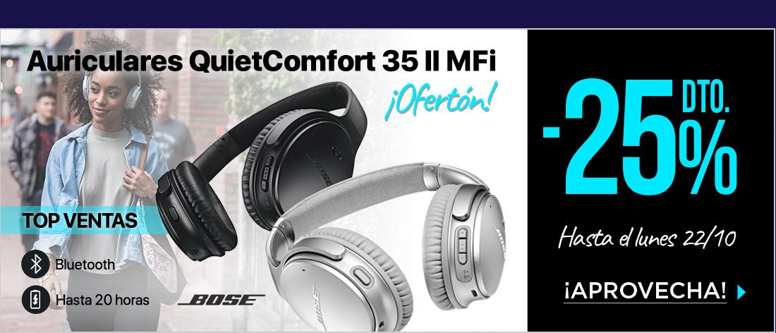 Bose Quietcomfort 35 II MFi Auriculares
