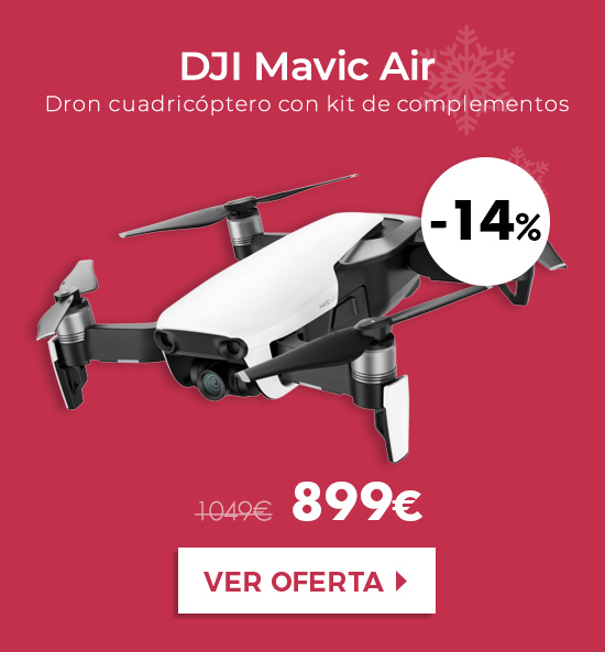 DJI Mavic Air Fly More Combo Drone Wifi (3 colores)
