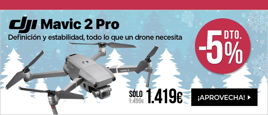 DJI Mavic 2 Pro Drone Negro
