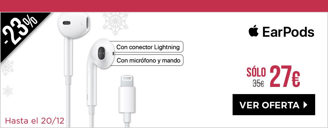 Apple EarPods con conector Lightning