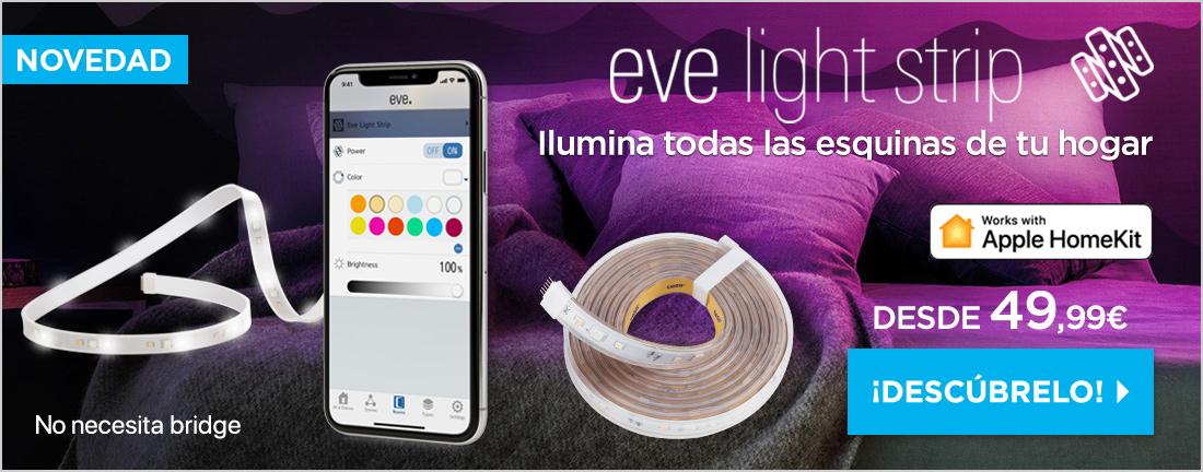 Eve tiras de luces