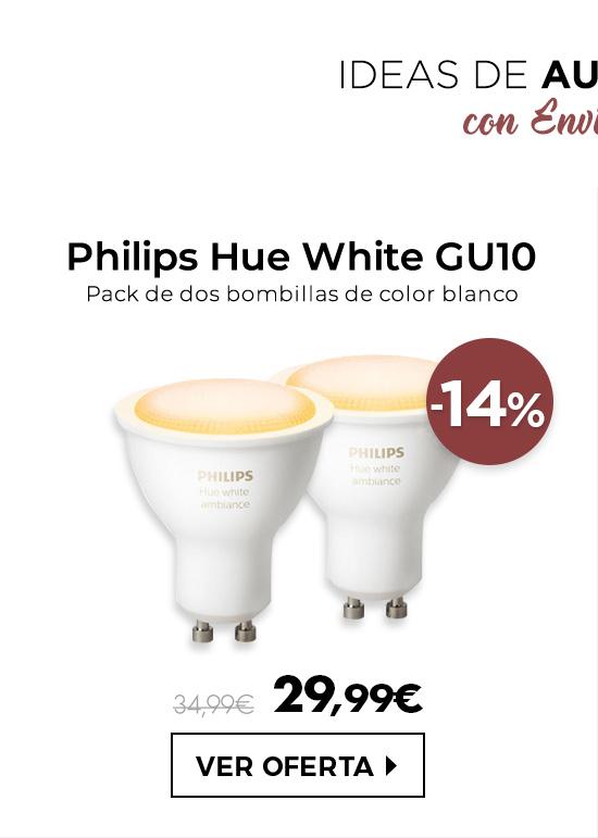 Philips Hue White GU10 x 2 bombillas