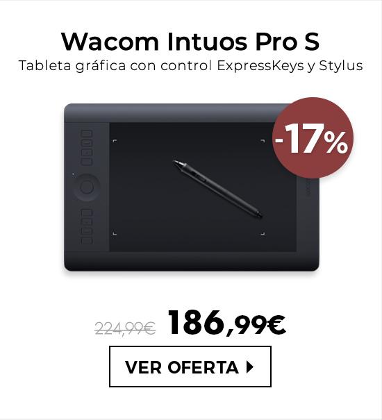 Wacom Intuos Pro S - Tableta gráfica