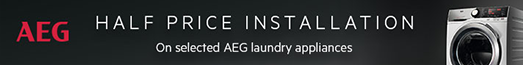 AEG - Half Price Installation on Laundry - 13.10.2021