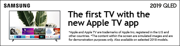 Samsung Apple TV App - The Frame