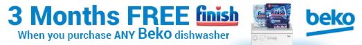 Beko Free Finish with Dishwashers 21.09.2017 - 25.10.2017