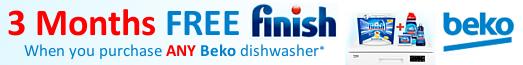 Beko Free Finish with Dishwashers 04.10.2018 - 07.11.2018