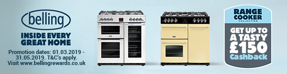 BELLING Cashback on Range Cookers