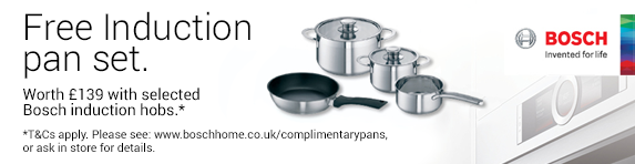 Bosch Free Induction Pan Set - 01.01.2018 - 31.03.2018