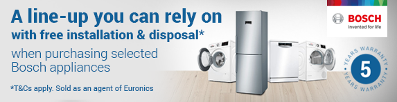 Bosch Free Installation and Disposal Promotion (