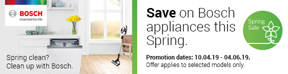 Bosch Spring Sale Promotion - 10.04.2019 - 04.06.2019