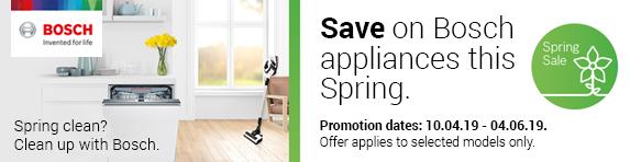Bosch Spring Sale Promotion - 10.04.2019 - 04.06.2019