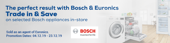 Bosch Trade In & Save Promotion 04.12.2019 - 23.12.2019
