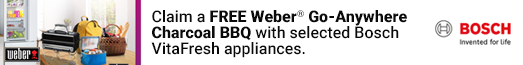 Bosch - Free Weber BBQ with selected cooling - 27.07.2021