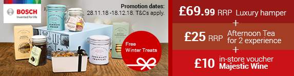 Bosch Winter Treats Promotion 28.11.2018 - 18.12.2018